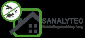Logo - Sanalytec - Schädlingsbekämpfung